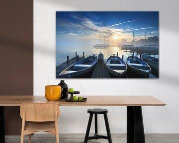 Jachthaven zonsopkomst von Sander van der Werf
