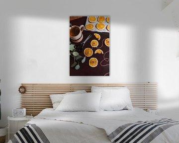 Getrocknete Orangen | Feiertage und Geselligkeit im Haus | Moody Fotografie von Anna Schouten - creatieve reis- & lifestyle-fotografie