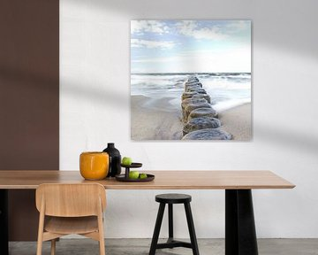La mer Baltique sur Michael Schulz-Dostal