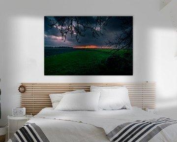Zonsondergang. van Anita Lammersma