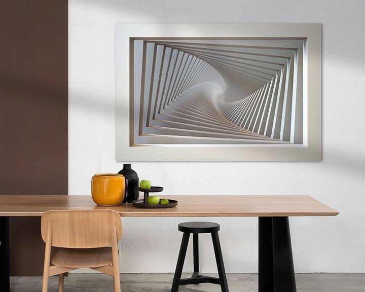 Sfeerimpressie: Spiraal raam van Chrisjan Peterse