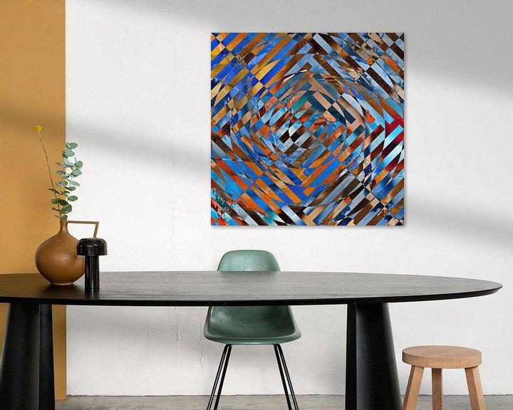 Beispiel: Abstrakte Linien von Maurice Dawson
