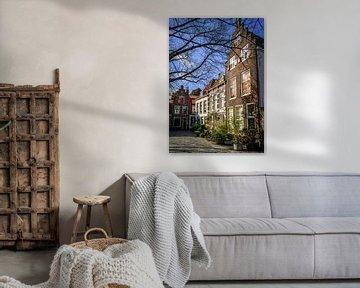 Pieterskerkerkhof Leiden von Dirk van Egmond