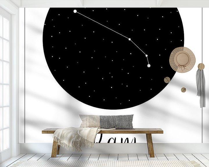 Beispiel fototapete: Sternbild Widder, niederländisch von Nynke Altenburg