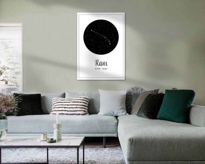 Beispiel: Sternbild Widder, niederländisch von Nynke Altenburg