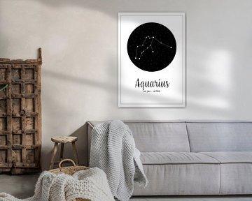 Sternbild Wassermann, englisch von Nynke Altenburg