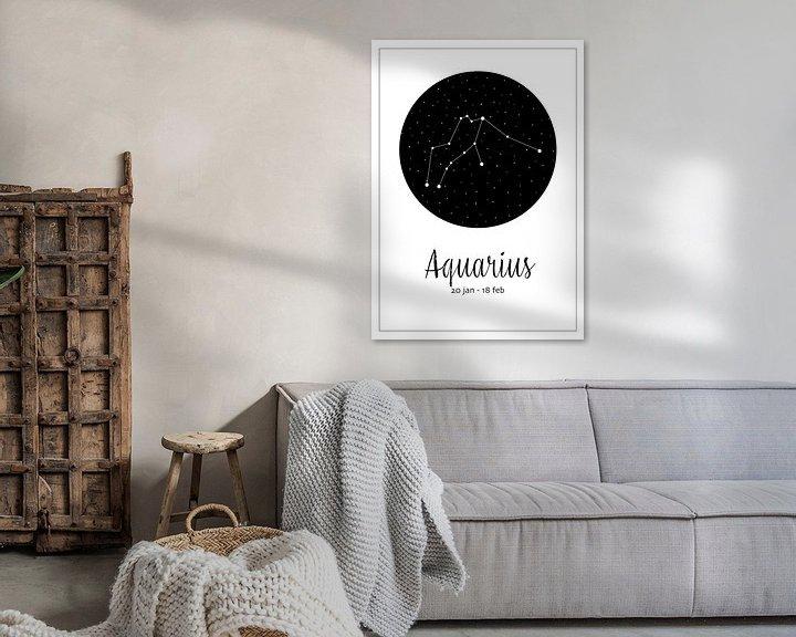 Beispiel: Sternbild Wassermann, englisch von Nynke Altenburg