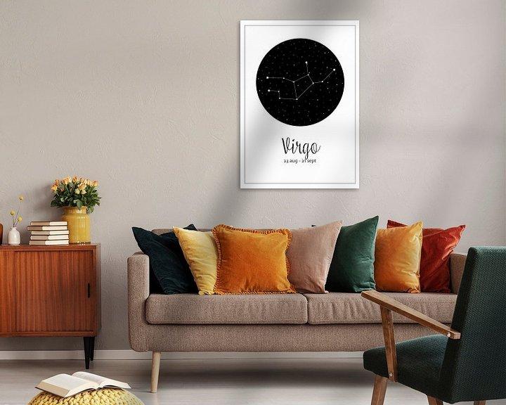 Beispiel: Sternbild Jungfrau, englisch von Nynke Altenburg