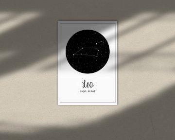 Sternbild Löwe, Englisch von Nynke Altenburg