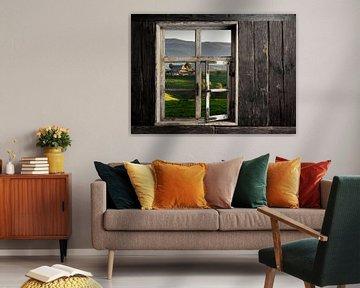 Blick durch ein Fenster von Jürgen Wiesler