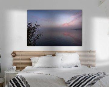 Früher Morgen an der Uferpromenade von René Wolters