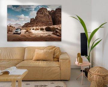 Wadi Rum, Jordanië van Melissa Peltenburg