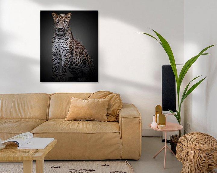 Beispiel: Panther mit einer Haltung von ilona van Bakkum