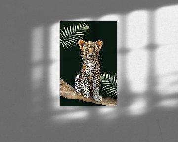 Leopard klein von Geertje Burgers