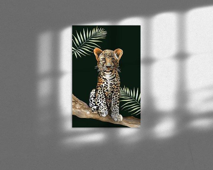 Beispiel: Leopard klein von Geertje Burgers
