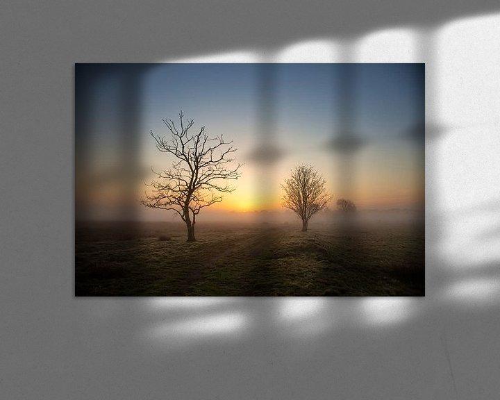 Impression: Paysage brumeux sur Anneke Hooijer