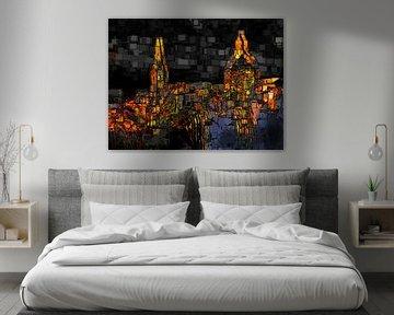 Stadtkunst, Engpass. von SydWyn Art