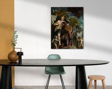 Mars und Venus durch Liebe vereint, Paolo Veronese