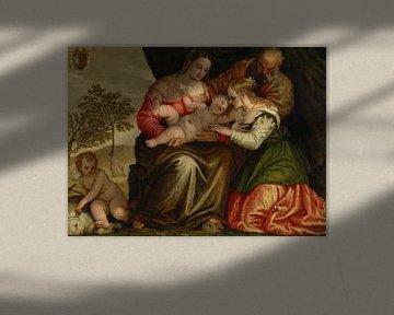 Die mystische Vermählung der heiligen Katharina, Paolo Veronese