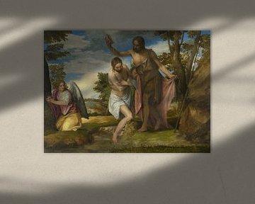 Die Taufe Christi, Paolo Veronese