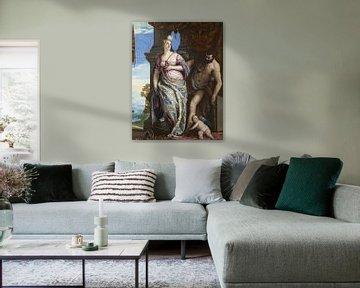 Weisheit und Stärke, Paolo Veronese