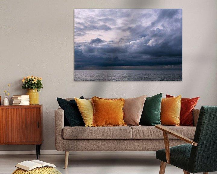 Beispiel: Wolken an der Ostseeküste bei Meschendorf von Rico Ködder