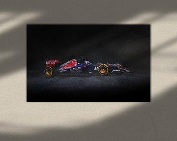 Max Verstappen - F1 Toro Rosso STR10 - 1e race van Kevin Baarda