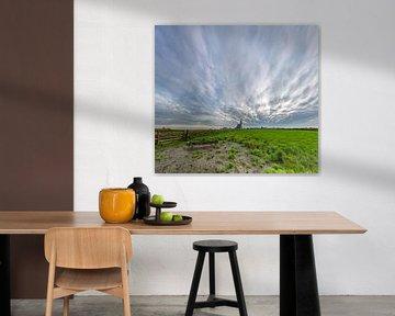 Den Hoorn Texel - The sky is the limit van Texel360Fotografie Richard Heerschap