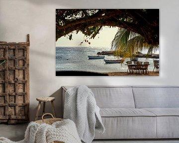 Strand Curaçao van Sjoerd van der Hucht