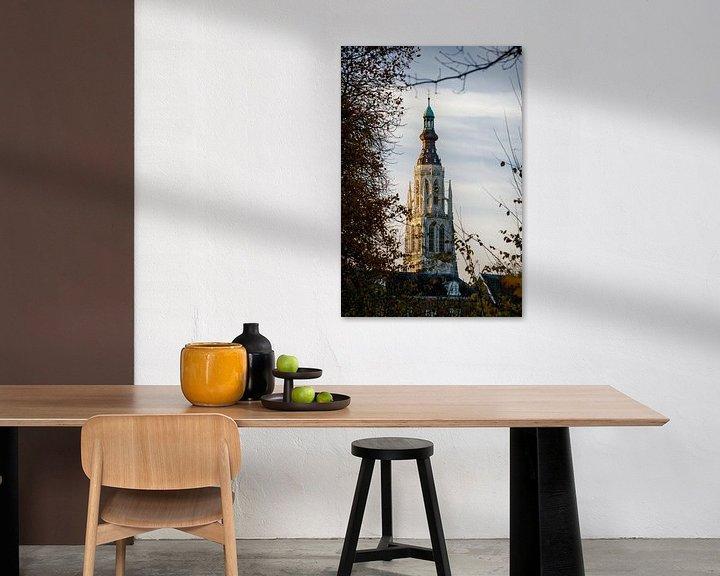 Sfeerimpressie: Zonsopkomst bij Grote Kerk Breda van JPWFoto