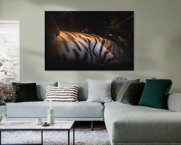 Beispiel: Tiger-Textur von Sandra Hazes