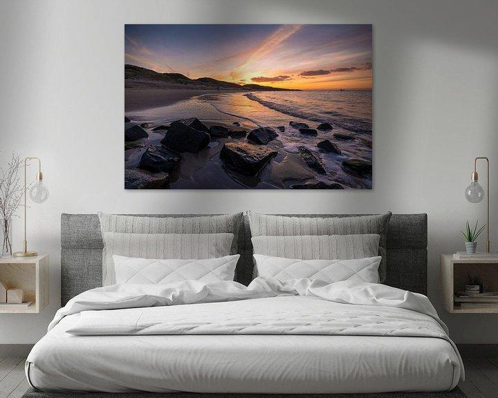 Sfeerimpressie: A Whisper (strand Zoutelande) van Thom Brouwer