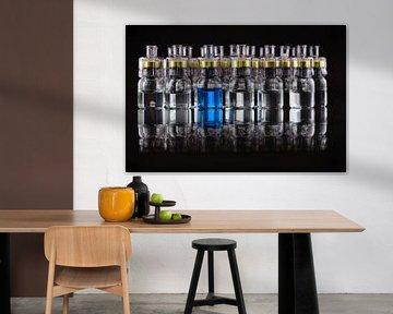 Glasampullen spiegeln sich von Ulrike Leone