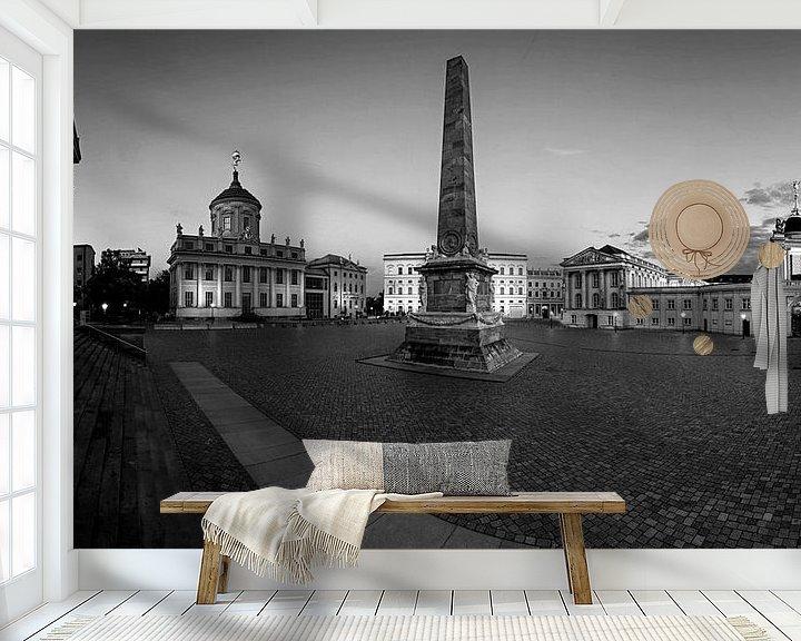Impression: Vieux marché de Potsdam (Panorama) sur Frank Herrmann