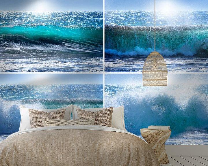 Beispiel fototapete: 0189 Das kurze, intensive Leben einer Welle von Adrien Hendrickx