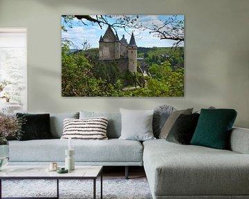 Schloss Vianden in Luxemburg von My Footprints