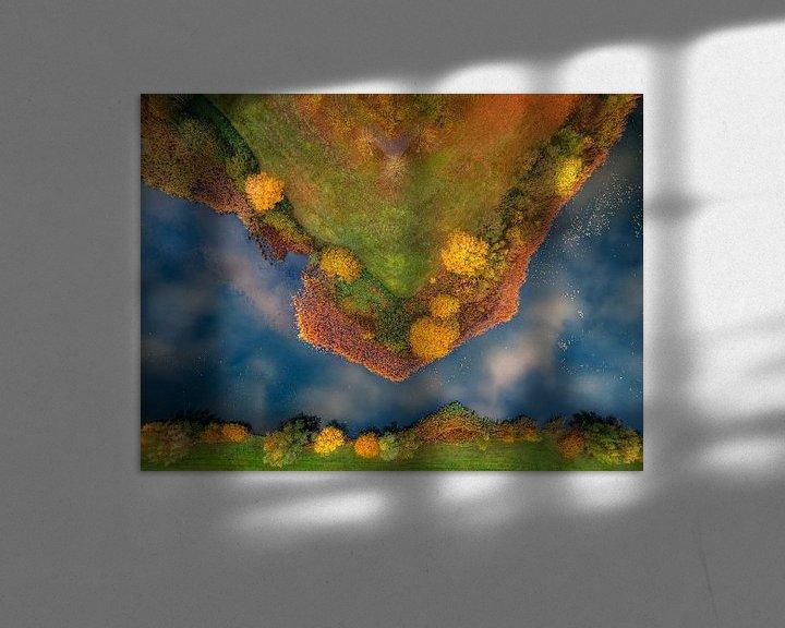 Sfeerimpressie: Punt van een ster van Ruud Peters