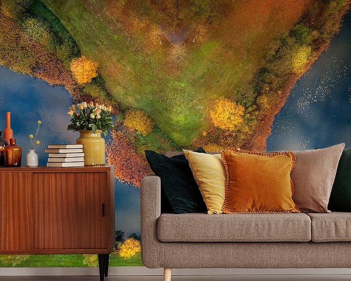 Sfeerimpressie behang: Punt van een ster van Ruud Peters
