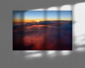 Glühende Wolken von Denis Feiner
