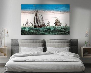 Ships1780 van Liesbeth Govers voor omdewest.com