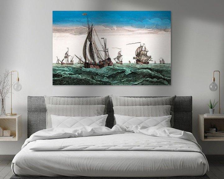 Sfeerimpressie: Ships1780 van Liesbeth Govers voor omdewest.com