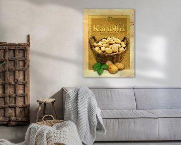 Küchenbild Kartoffeln von Dirk H. Wendt