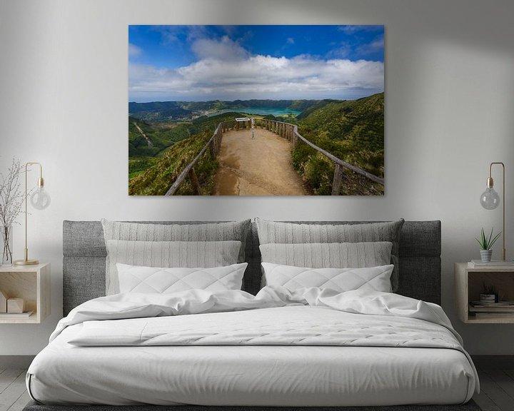 Sfeerimpressie: Boca do Inferno, Sete Cidades, Azoren, Portugal van Pieterpb