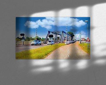 IJzeren brug van Digital Art Nederland