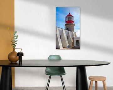 Leuchtturm von Cabo de Sao Vicente (Portugal) von Jessica Lokker