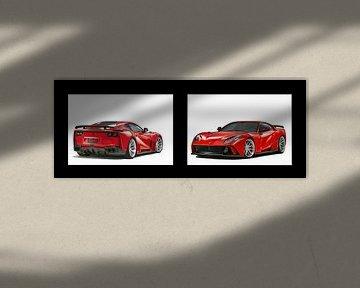 Ferrari 812 Superschneller Novitec von Gert Hilbink