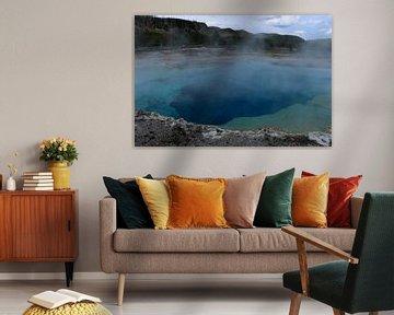 Blauwe tinten van de Emerald Pool van Christiane Schulze