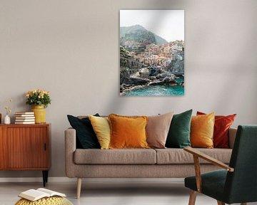 Manarola, Cinque Terre in Italië van Michelle Wever