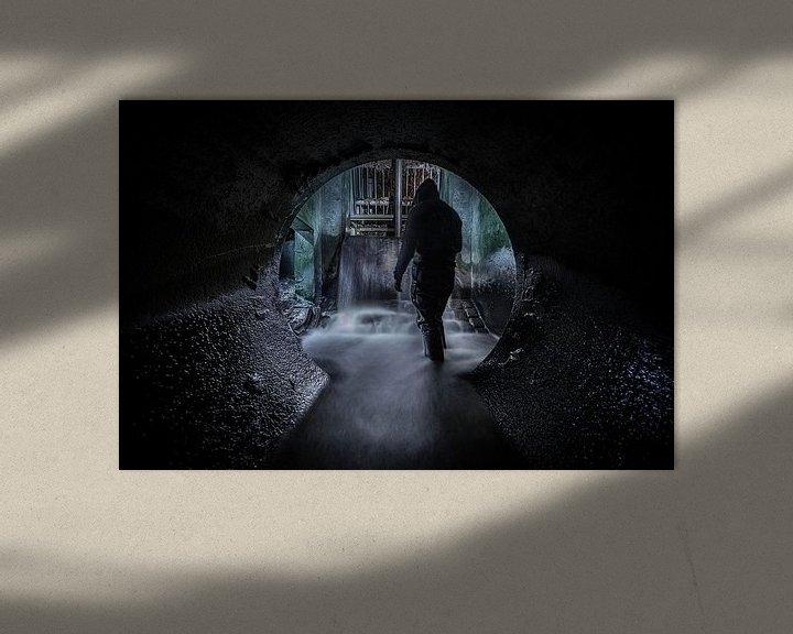 Beispiel: Der Mann aus dem Untergrund von Siebe Taeleman
