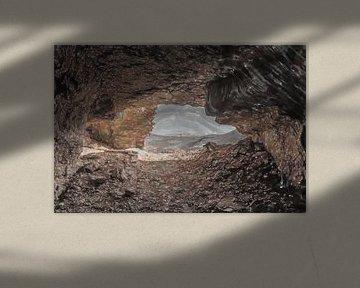 Uitzicht vanuit de grot van Frank Heinz